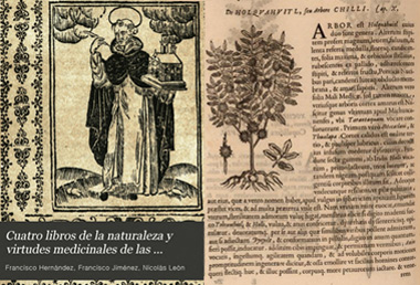 Four books of nature and medicinal virtues of the plants and animals of the new Spain - Spanish and Latin versions