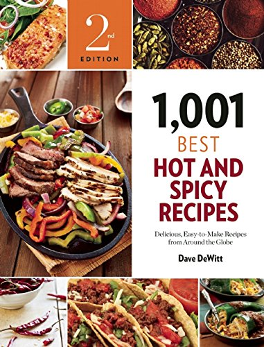 1001 Chilli Pepper Recipes Book - 2nd Edition Cover