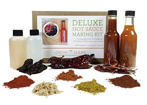 Artisan hot sauce making kit