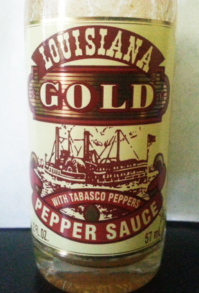 Louisiana Gold - Pepper Sauce with Tabasco