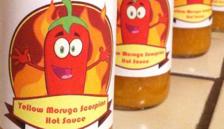 King Scorpion - Yellow Moruga Scorpion Hot Sauce