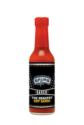 The Hot Sauce Boss - San Antonio Spurs Sauce