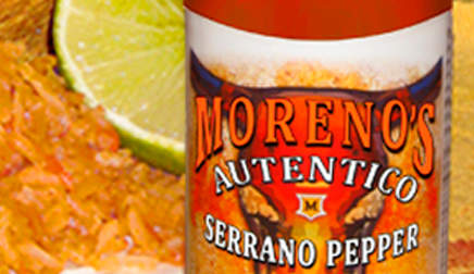 Morenos Autentico - Serrano Pepper Hot Sauce