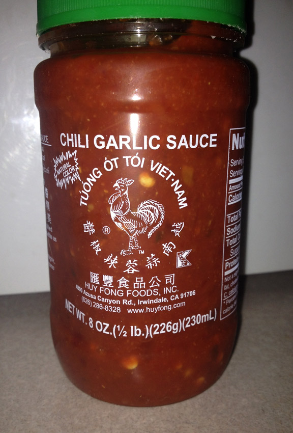 Huy Fong - Chili Garlic Sauce