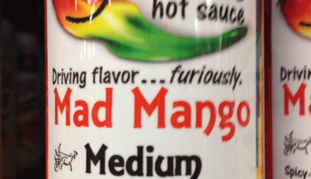 Jehu Hot Sauce - Mad Mango: Medium