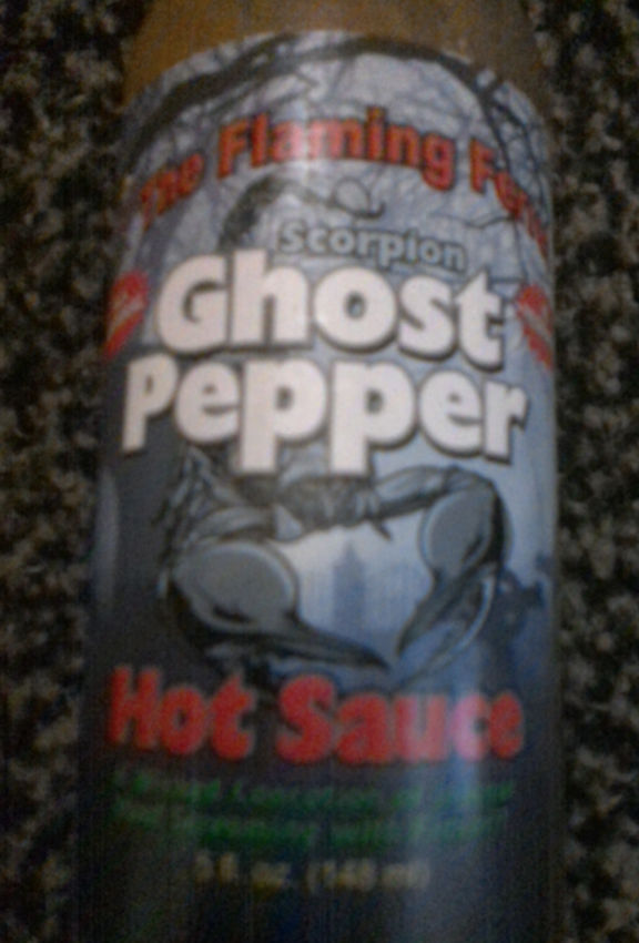 The Flaming Ferret - Scorpion Ghost Pepper
