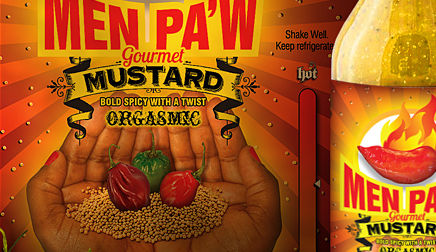 Men Pa'w Gourmet - Bold & Spicy Mustard