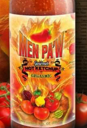 Men Pa'w Gourmet - Hot Ketchup