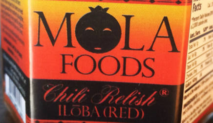 Mola Foods - Chili Relish Iloba (Red)