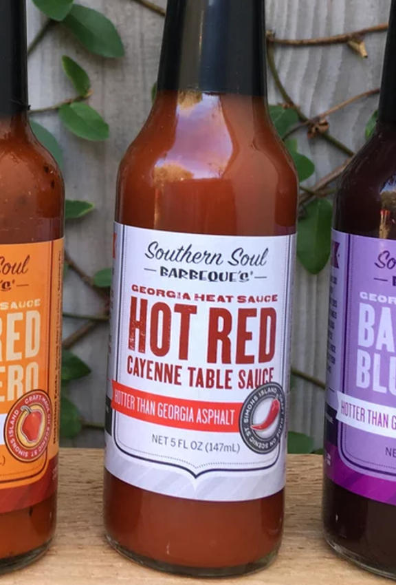 Southern Soul Barbeque - Hot Red Cayenne Table Sauce