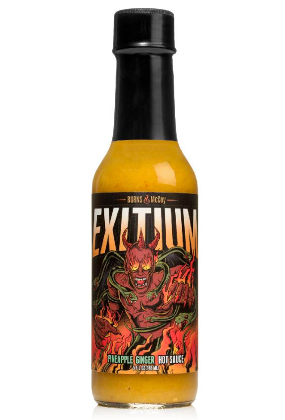 Burns and McCoy - Exitium: Pineapple Ginger Hot Sauce