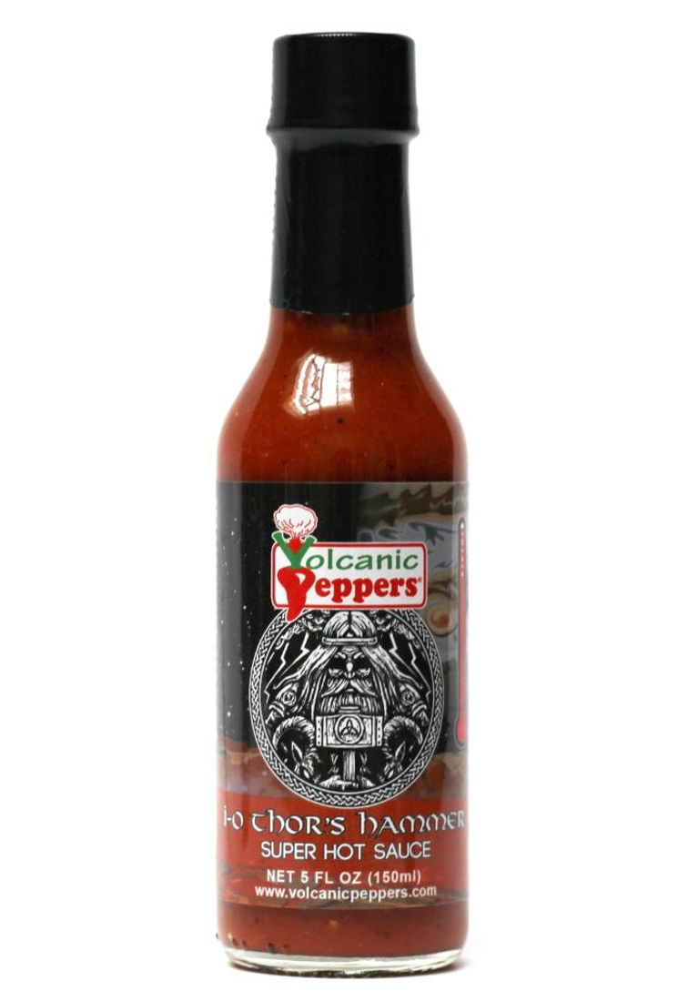 Volcanic Peppers - I-O Thor's Hammer: Super Hot Sauce