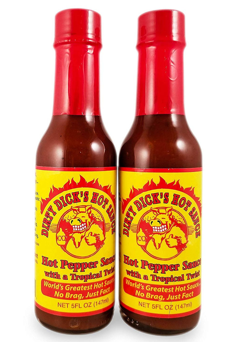Dirty Dick's - Hot Pepper Sauce with a Tropical Twist