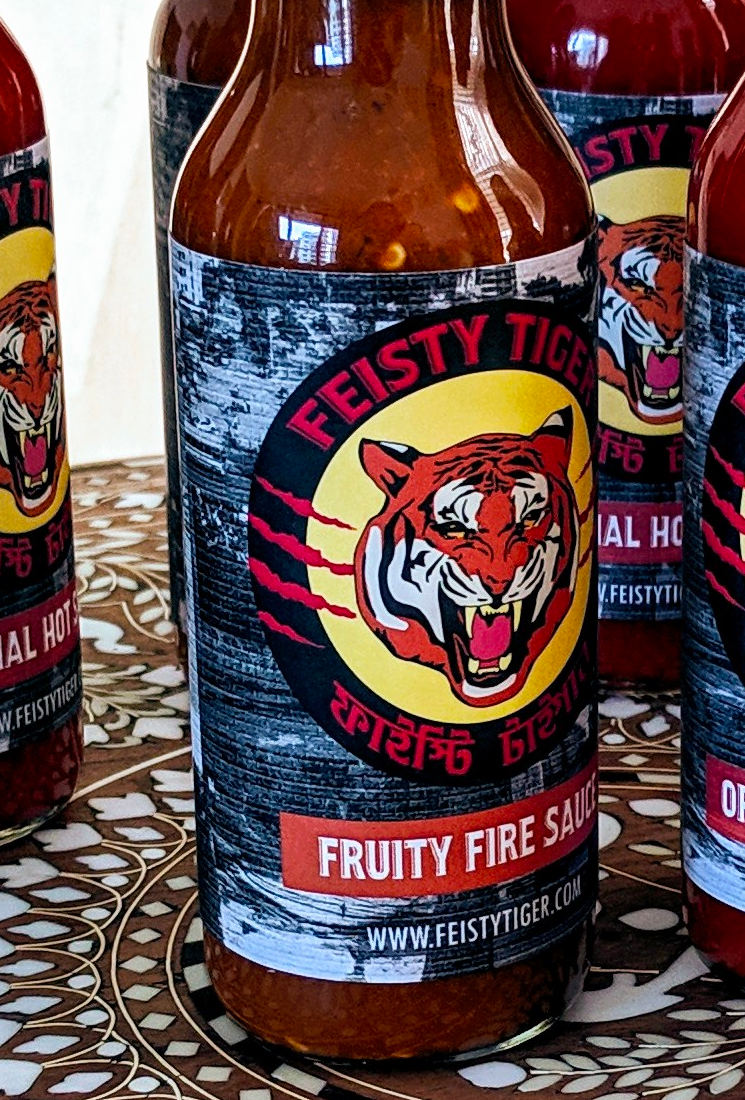 Feisty Tiger - Fruity Fire Sauce