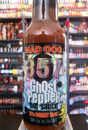 Mad Dog 357 - Ghost Pepper Hot Sauce