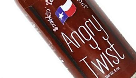 Smokin' Texas Gourmet - Angry Twist Pepper Sauce